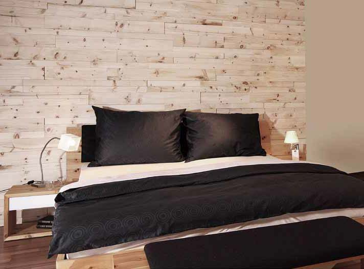 Nuovi profili in legno per pareti interne linea irregolare - Parete interna in legno ...