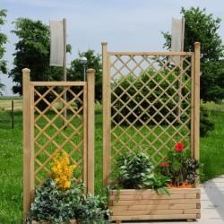 Grigliati per giardino